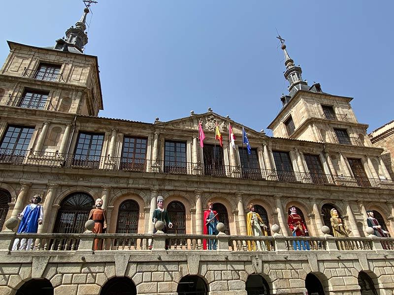 Gigantones y Cabezudos de Toledo