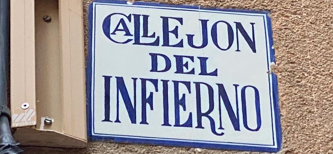 El Callejón del Infierno de Toledo