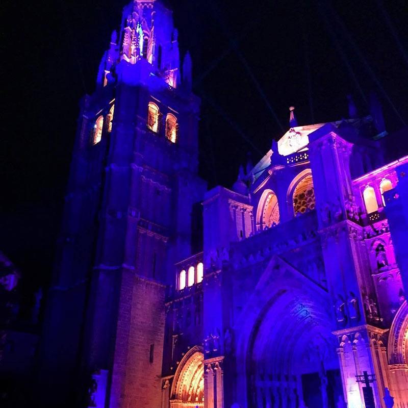 Luz Toledo / Espectaculo de luz y sonido