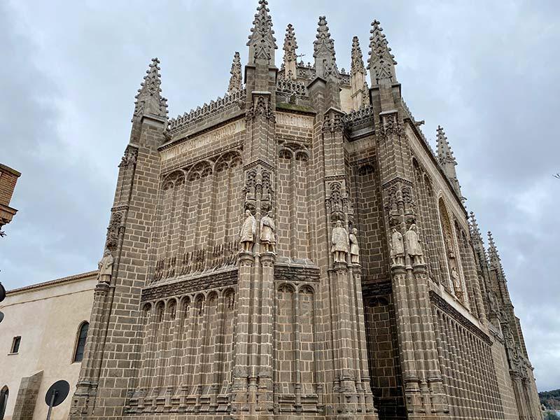 Fachada de S. Juan de los Reyes