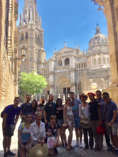 Free tour frente a catedral