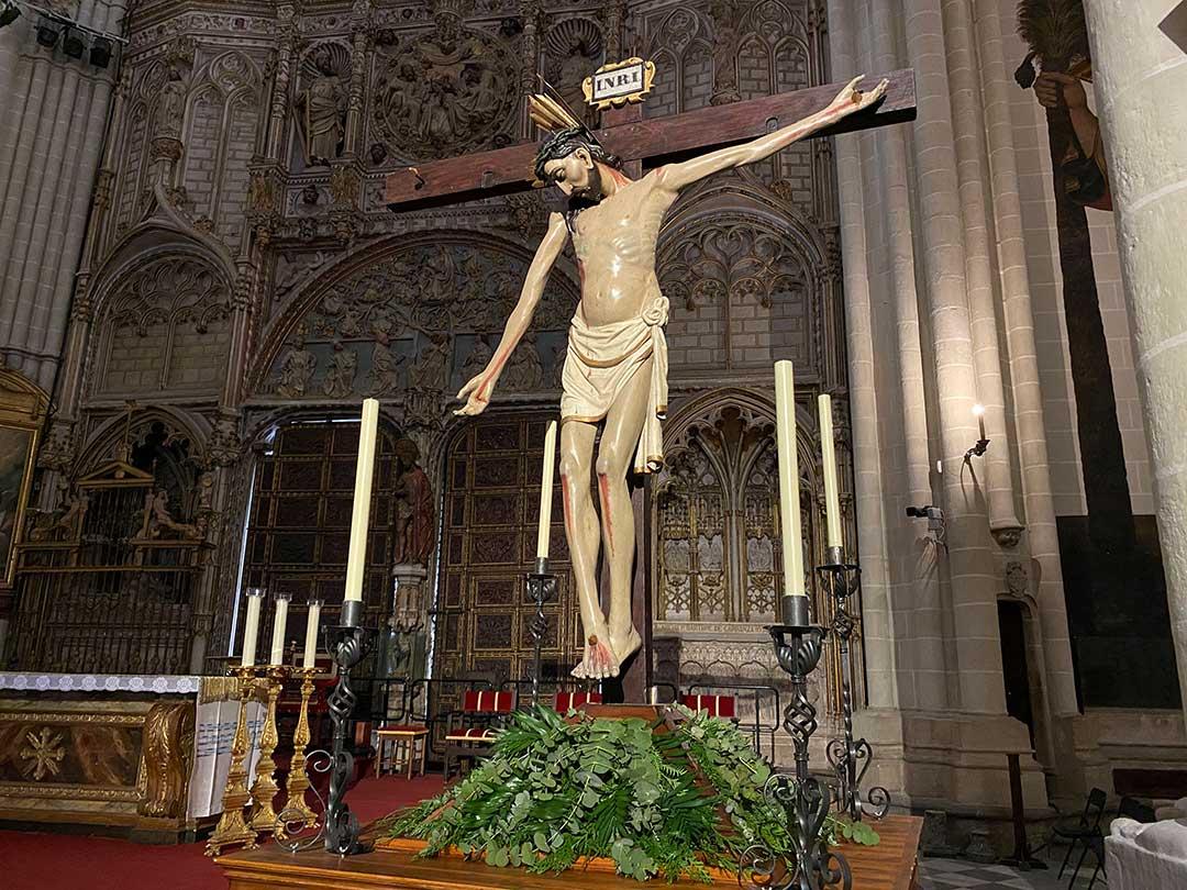 La Leyenda del Cristo de la Vega de Toledo