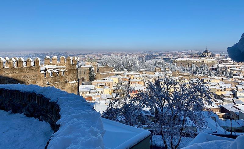 Enero 2021 Nieva en Toledo