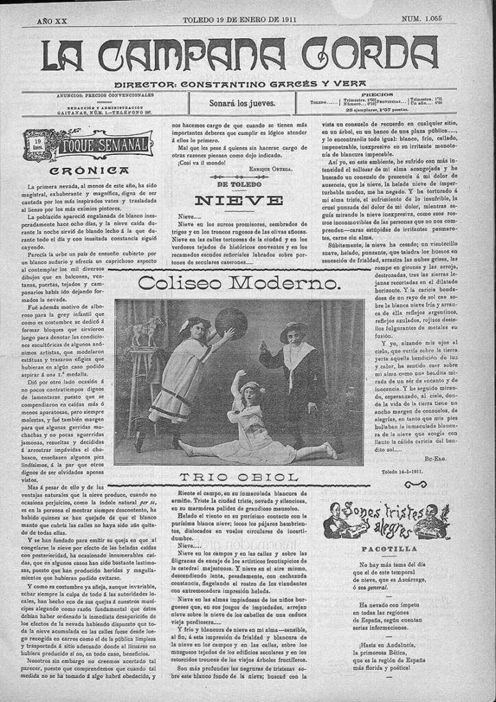 """Diario """"La Campana"""", número 1218"""