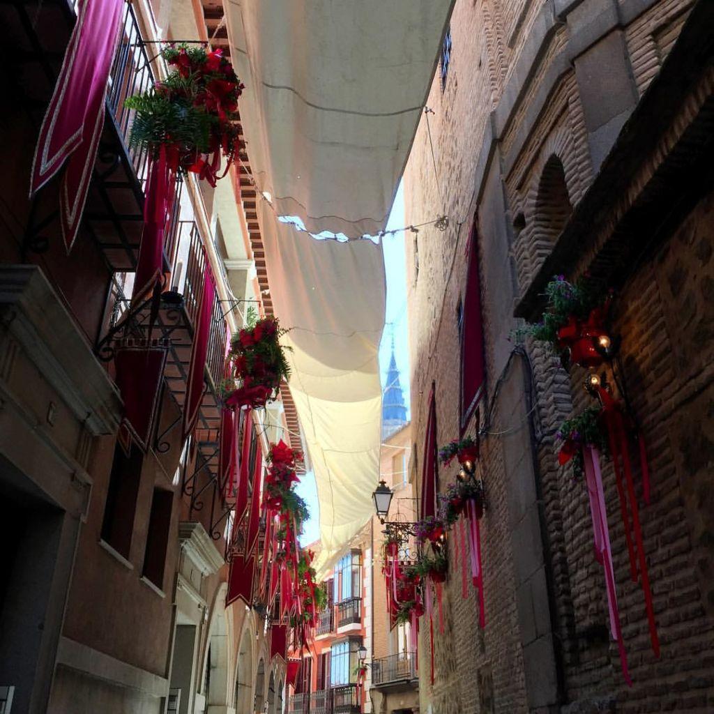 Los Patios de Toledo abren sus puertas en el Corpus