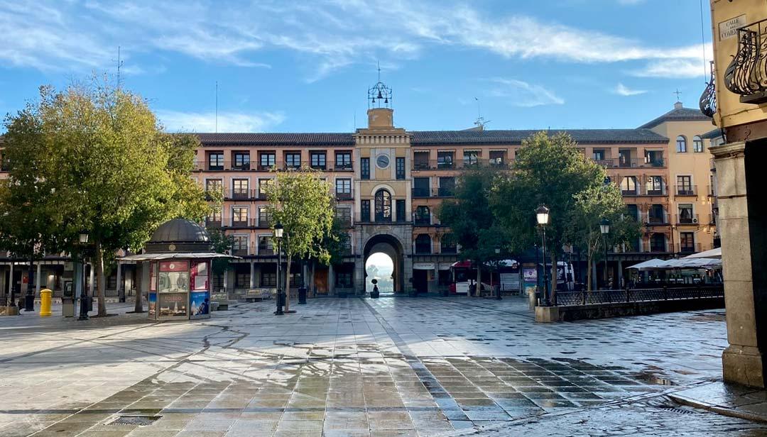 La Plaza de Zocodover de Toledo