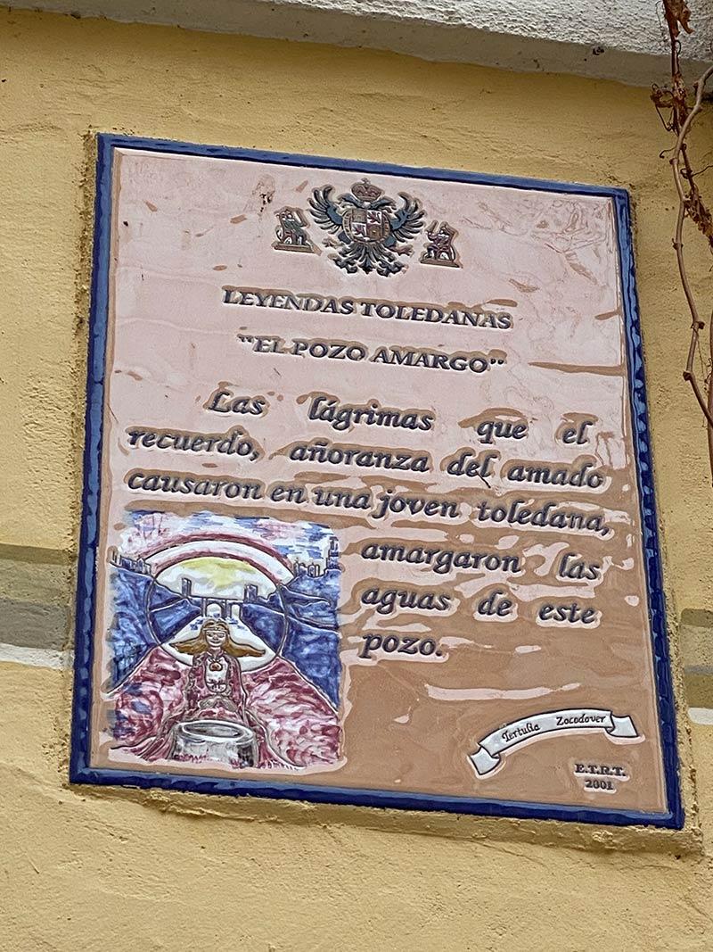 Calle del Pozo amargo de Toledo