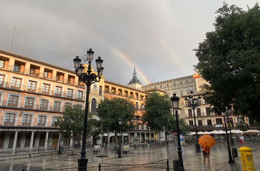 Puente de todos los Santos en Toledo