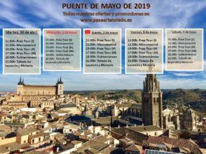 Puente de Mayo en Toledo