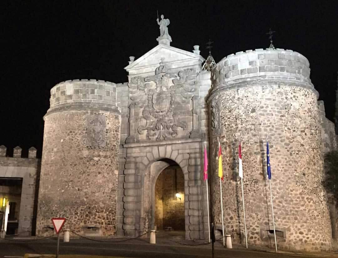 La puerta de Bisagra de Toledo