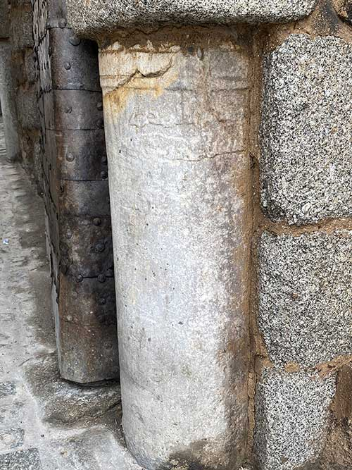 Cipos funerarios de la puerta del Cambrón