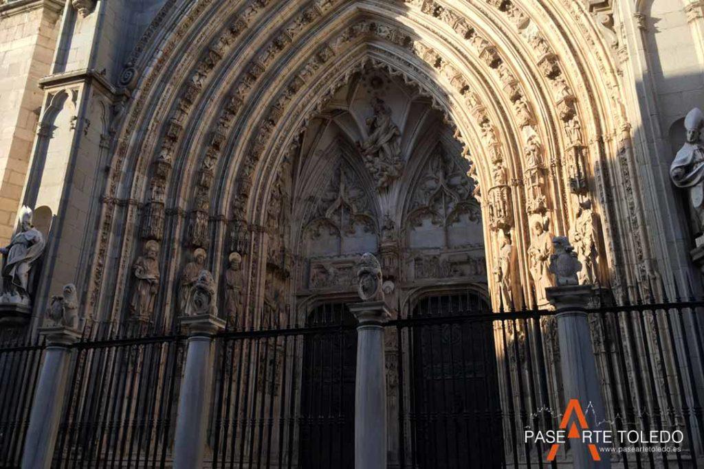 Puertas y Plantas de la Catedral de Toledo