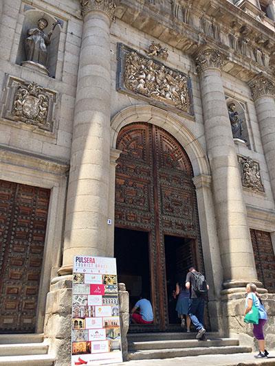 Pulsera para turistas en Toledo