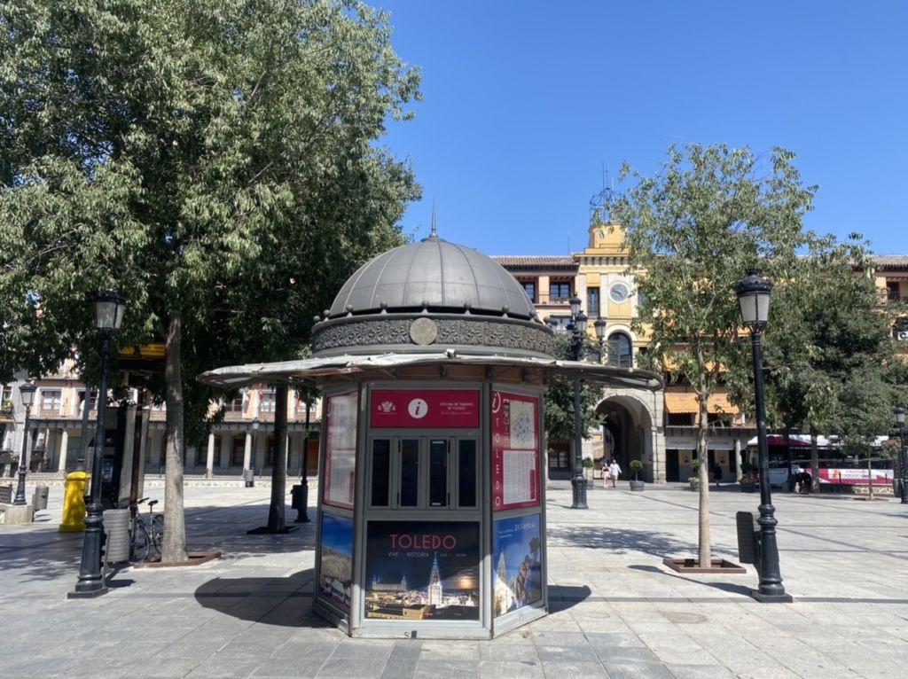 Quiosco de Información turística de la Plaza de Zocodover