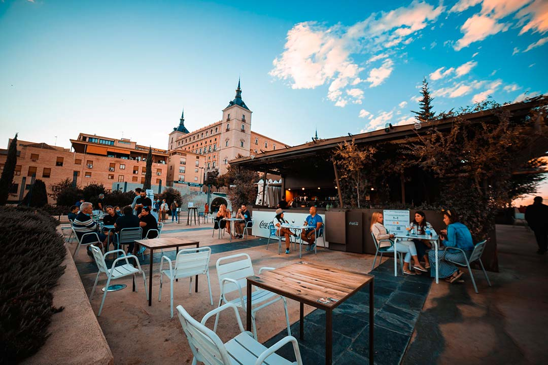 Terrazas en Toledo
