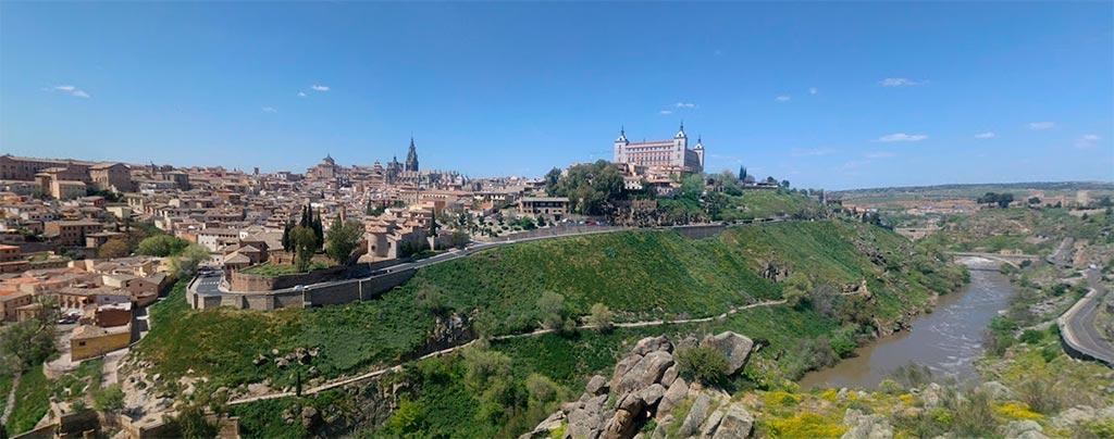 Toledo visto desde el Cerro del Bu