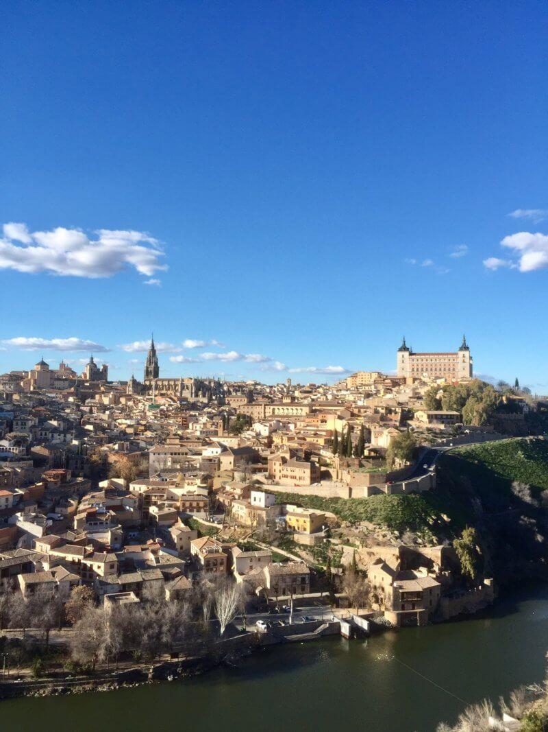 Vistas desde la Ermita del Valle de Toledo