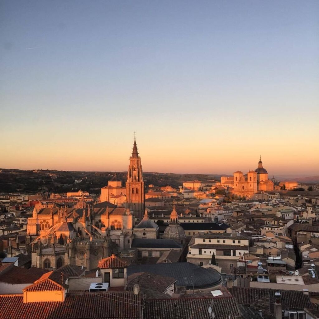 Foto desde el Alcázar de Toledo